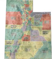 Utah District Map